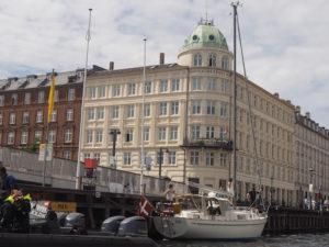 Vue du canal à Copenhague