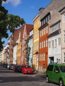 Façades colorées au Danemark