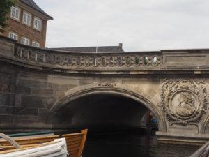 Un pont sur le canal à Copenhague