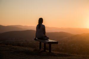 Etre du matin et profiter du lever du soleil