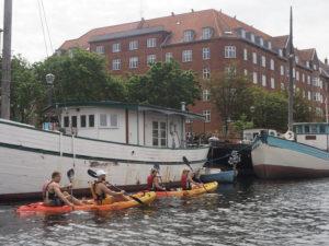 Faire du kayak à Copenhague