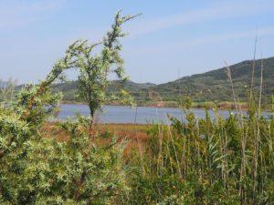 Le lac Korission à Corfou