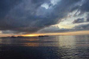 Lever de soleil aux Philippines