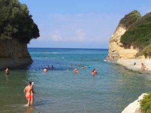 Le Canal d'amour à Corfou
