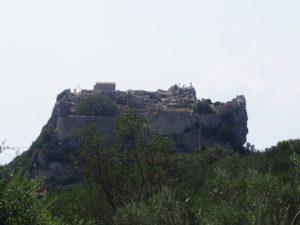 Angelokastro à Corfou