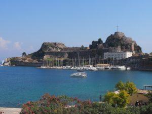La citadelle de Corfou