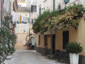Les rues de Corfou