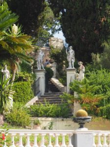 Les jardins de l'Achilléion