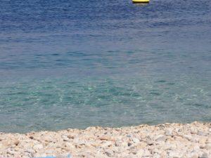 Belle plage à Paxos