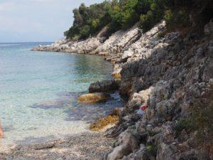 Belle plage à Naxos