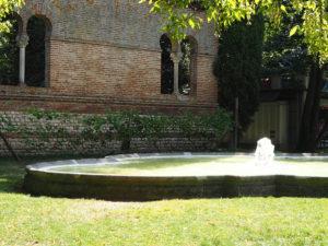 Le jardin des plantes à Toulouse