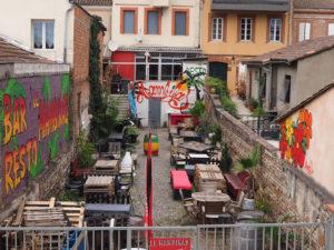 Une terrasse à Toulouse