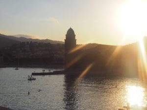 Collioure au couchant