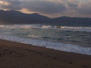Plage Ammoudara en Crète