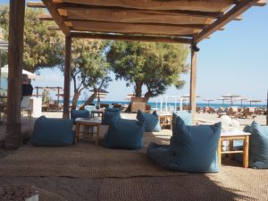 Le bar de la plage Enorme Resort Beach