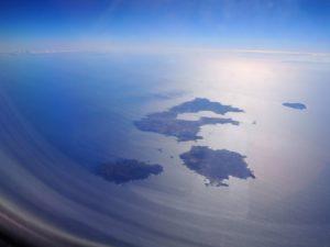 Santorin vu du ciel