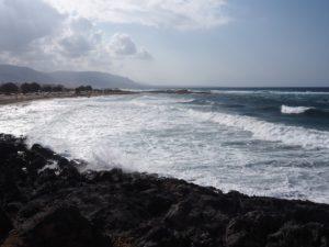 Malia, vue sur la côte Crétoise