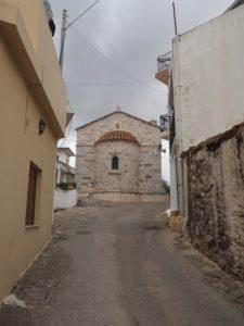 Le village de Mochos sur le plateau Lassithi