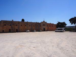 Le monastère d'Arkadi en Crète