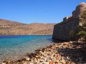 Spinalonga en Crète