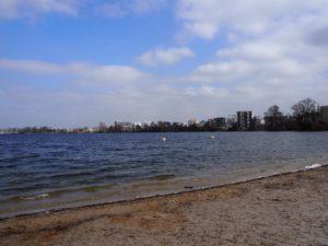 Bordeaux plage du lac