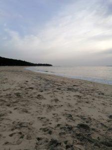 La plage Pereire à Arcachon