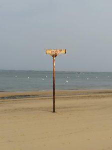Danger à la plage
