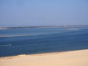 Vue de la Dune du Pilat