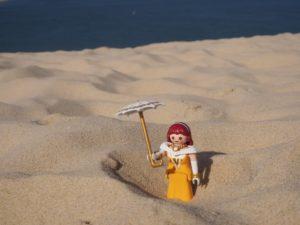 Une Playmo à la Dune du Pilat