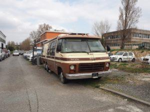 Un van vintage