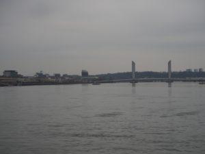 La Garonne et le pont Chaban-Delmas
