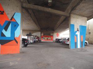 Un parking à Cenon