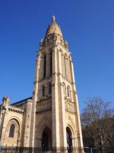 Eglise du quartier Bastide à Bordeaux