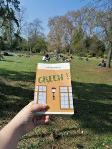 Green ! de Nina Bartoldi au parc de Vincennes