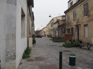 Rue Kleber dans le quartier St Jean à Bordeaux