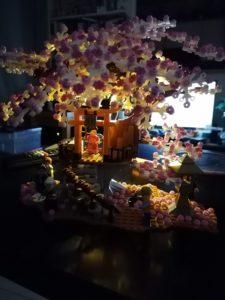 Un temple en Lego