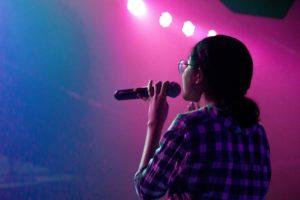 Chanter sur scène