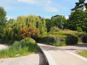 Balade au parc de Bercy, côté Cour St Emilion