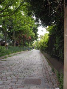 Promenade au Parc de Belleville