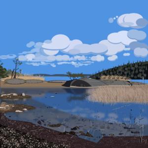 Vissvass, Suède, en PPT Art