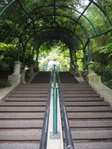 Un RTT au parc - Le parc de Belleville