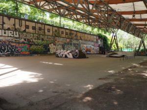 Skate parc à Bercy