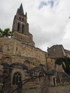 L'église monolithe de St Emilion